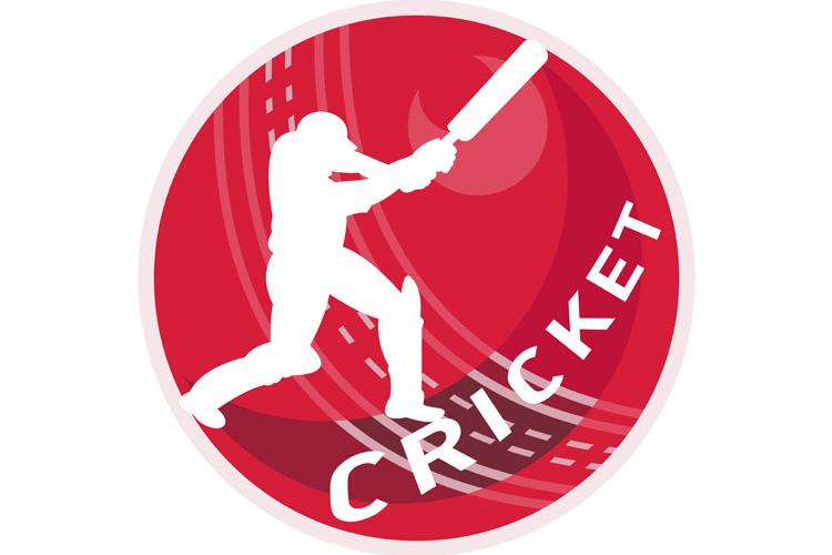 cricket player batsman batting ball example image 1