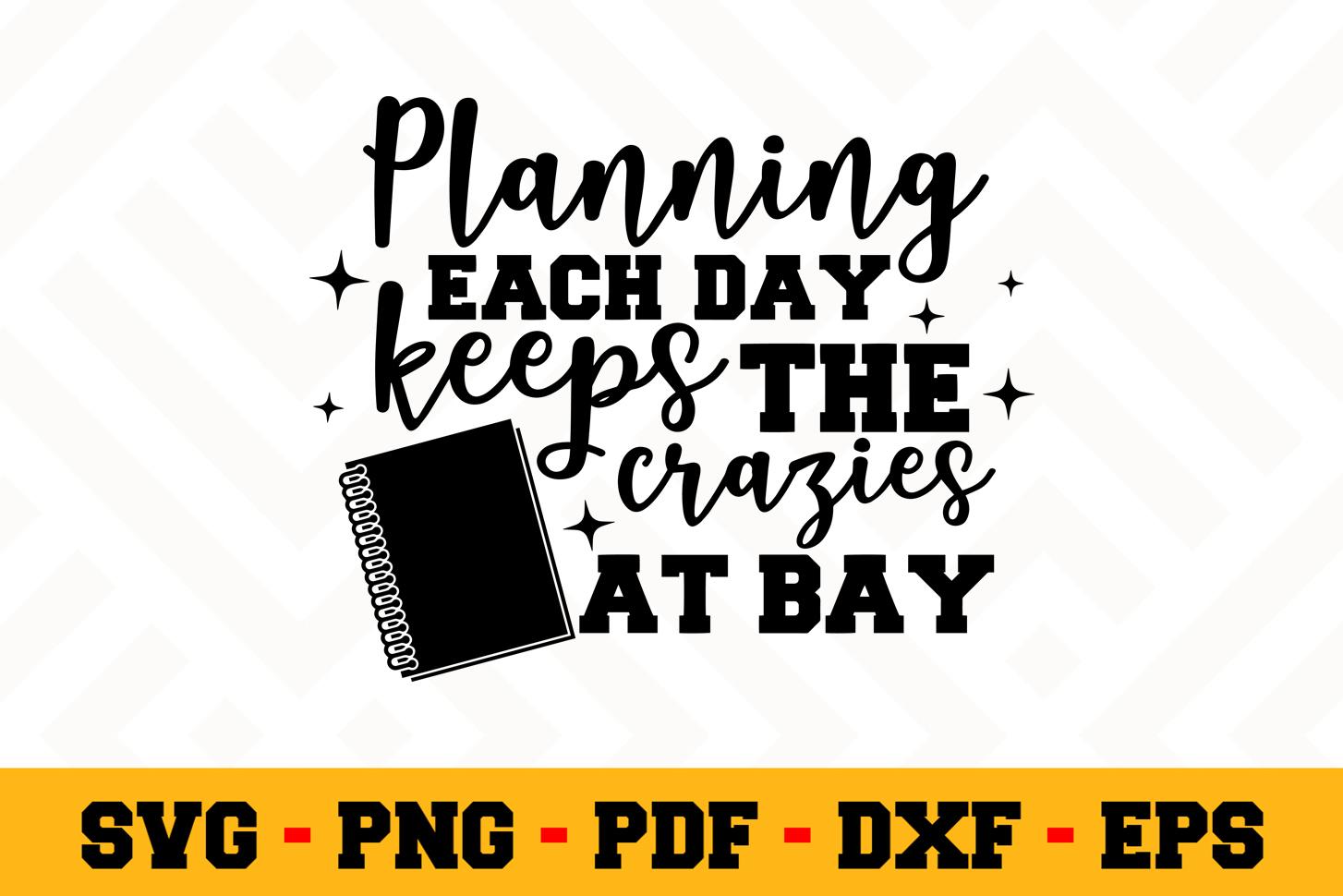 Planning SVG Design n492   Planning SVG Planner File example image 1