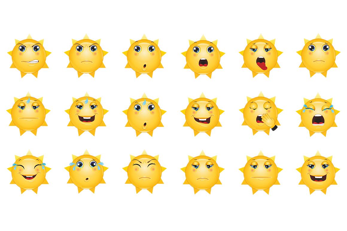 Emoticons Sun example image 12