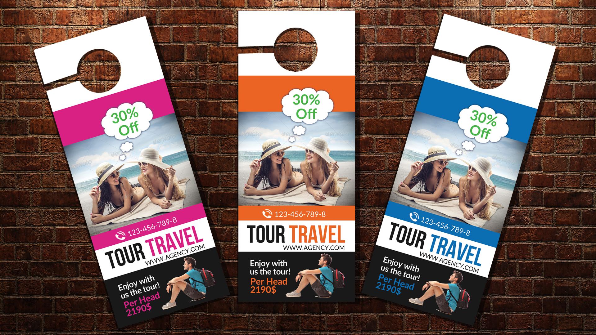 Holiday & Tour Door Hangers example image 3