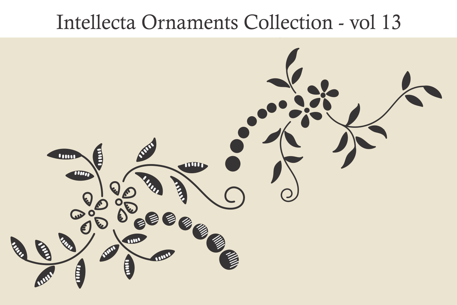 Intellecta Ornaments Collection 13 example image 6
