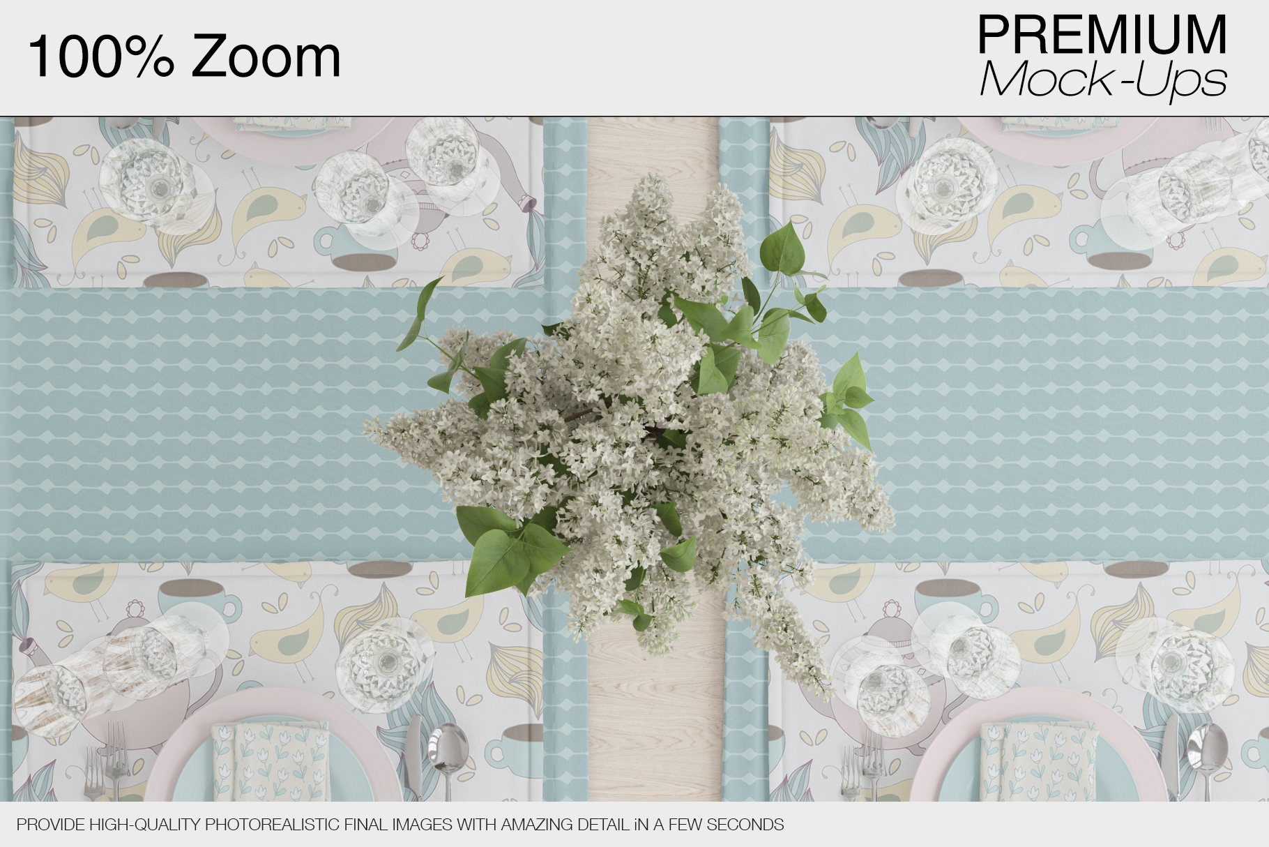 Tablecloth, Runner, Napkins & Plates example image 19