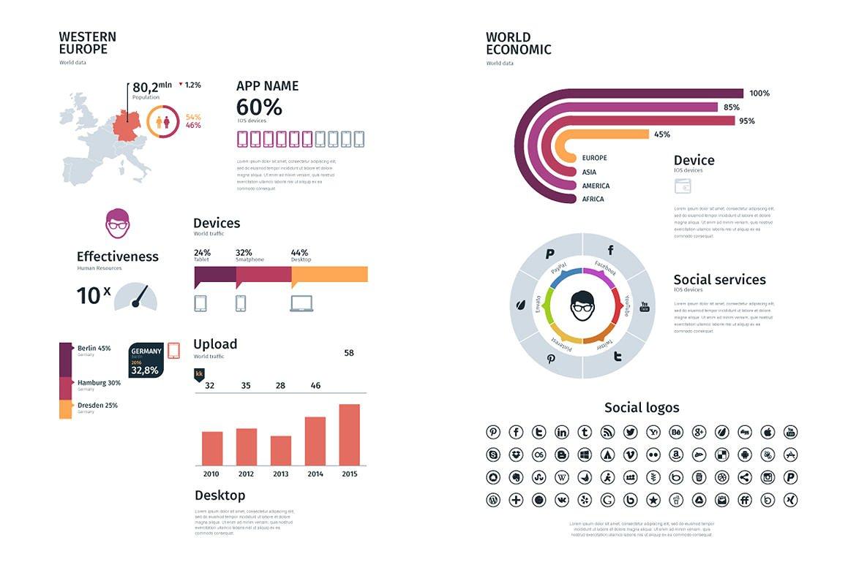 Modern infographics vol.01 example image 4