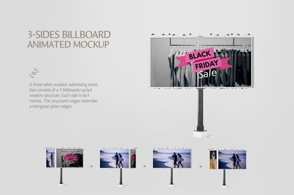Billboard Animated Mockups Bundle example image 6