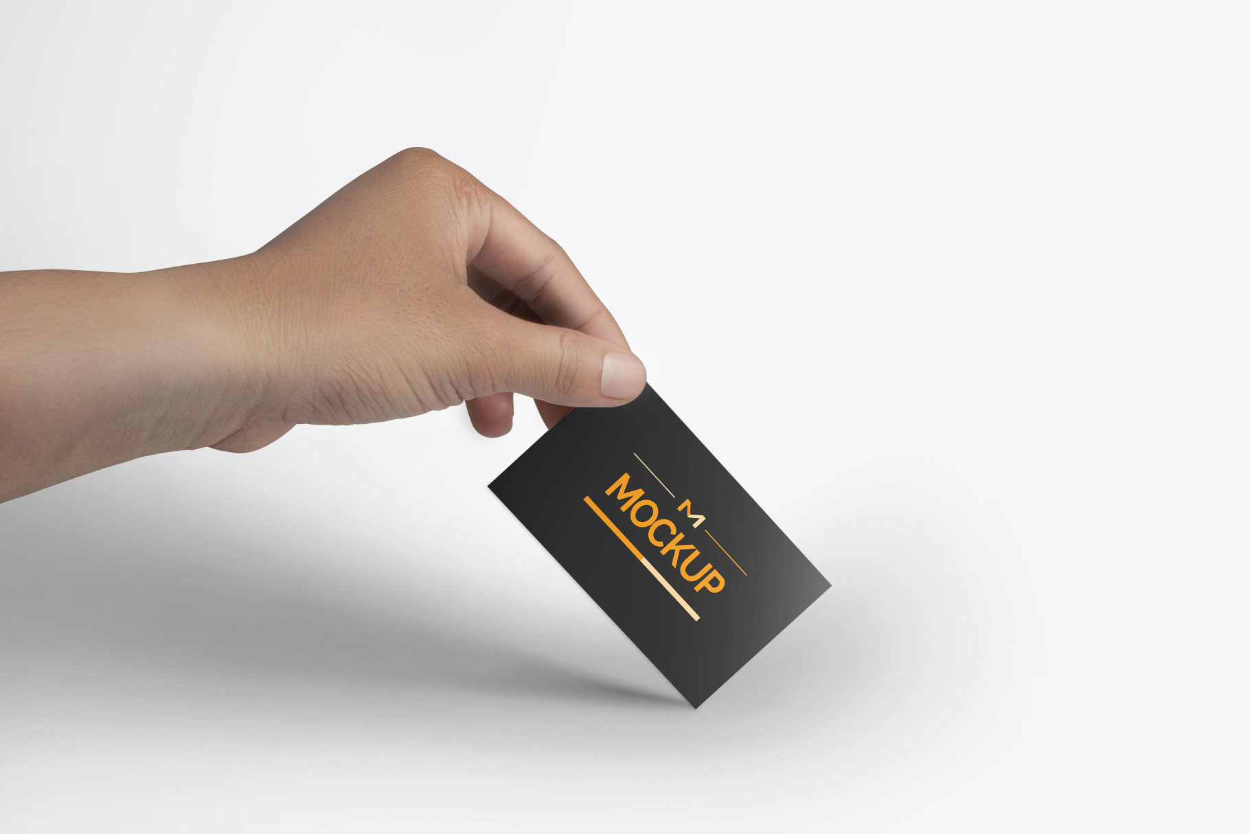 6 Style Business Card Mockups example image 6