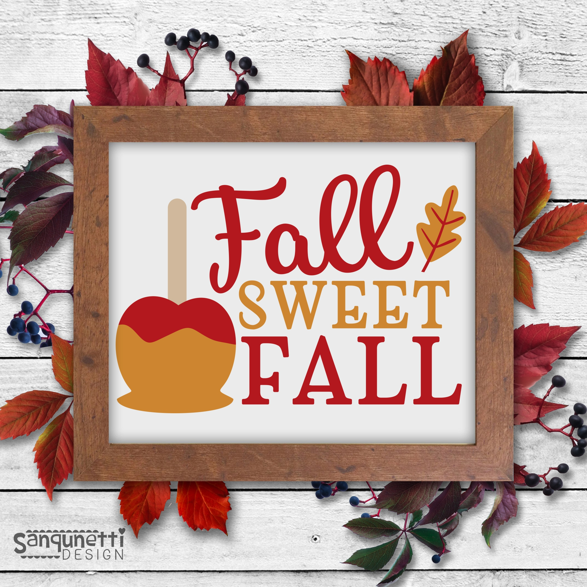 Fall SVG Bundle 1, autumn cut files example image 5
