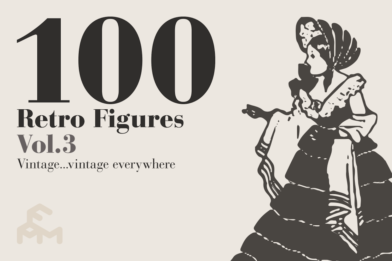 100 Retro Figures - Vol.3 example image 1