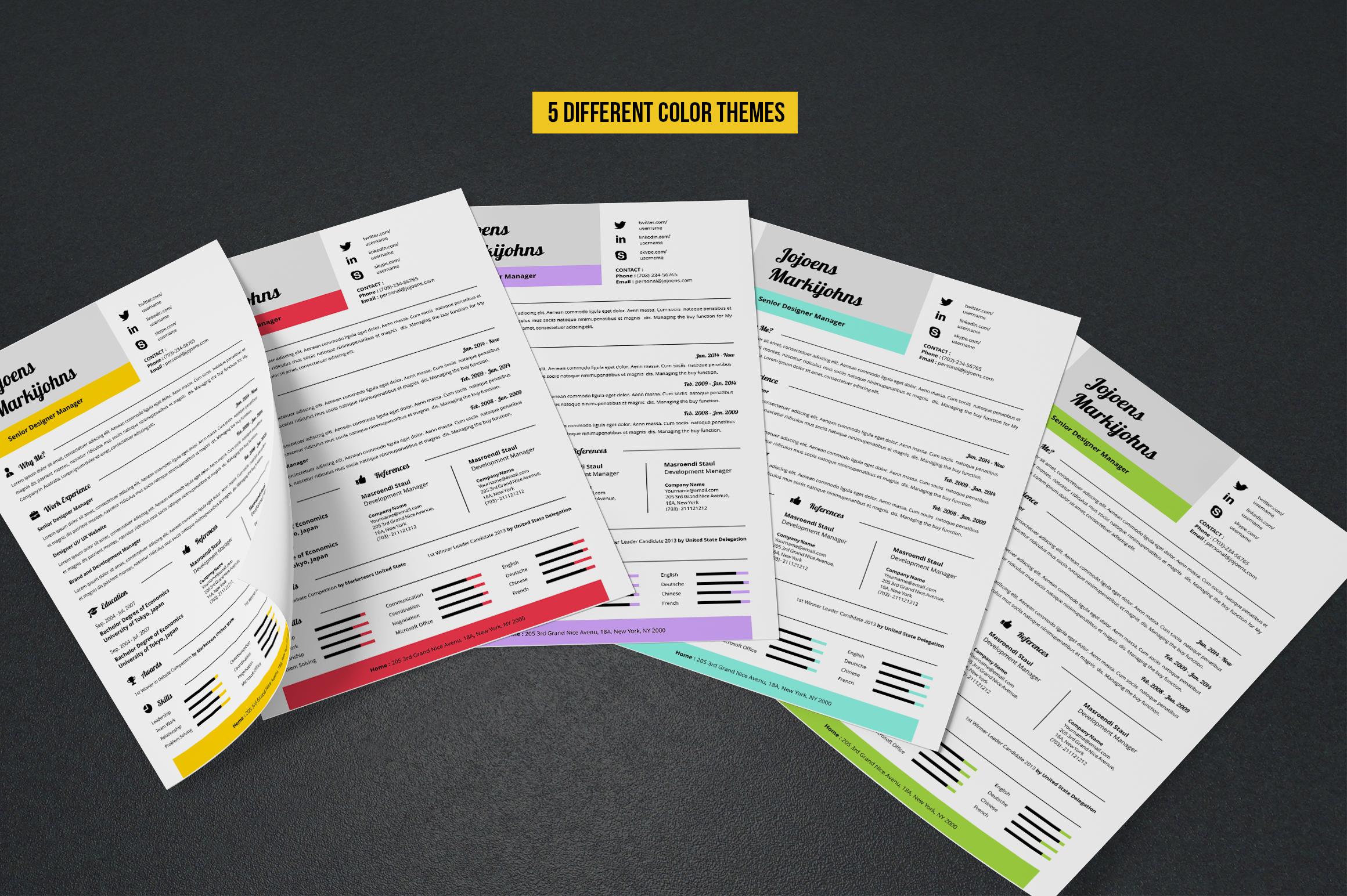 Resume example image 5