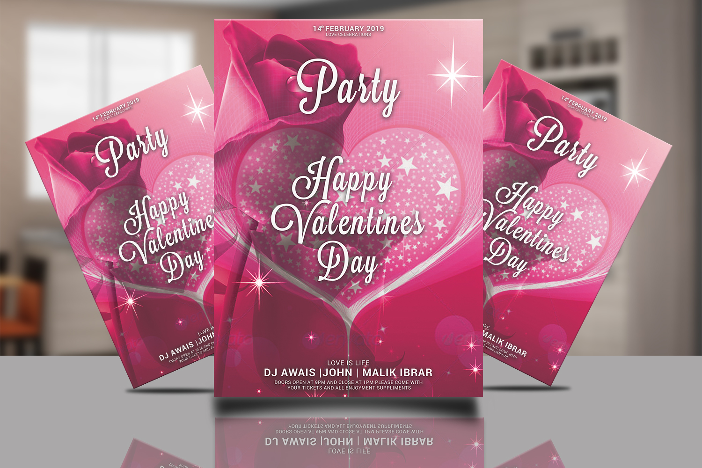 Valentines Day Flyer Bundle example image 4