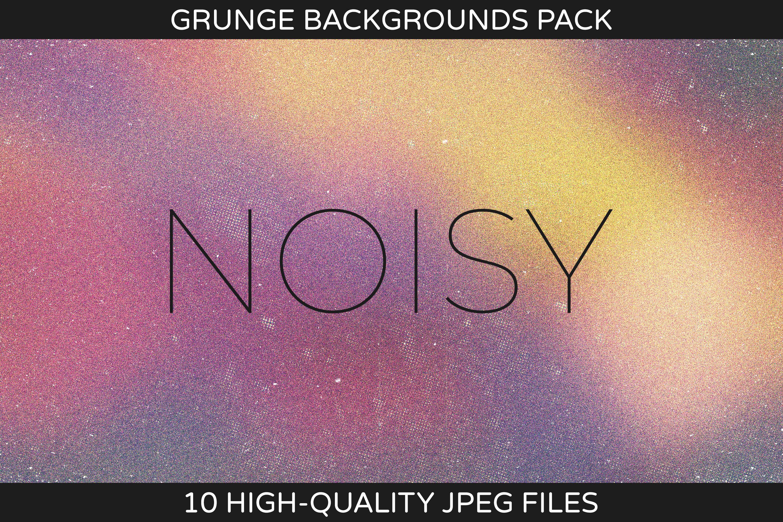 Noisy - Grunge Backgrounds Pack example image 1