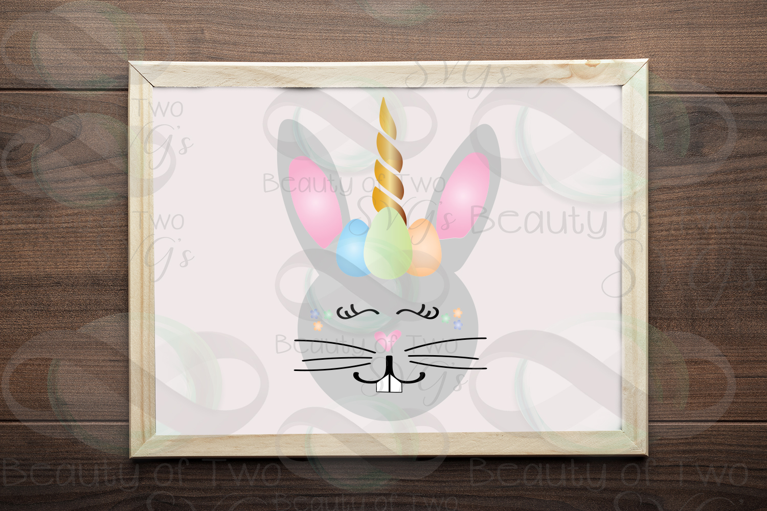 Easter svg Digital Sign Design Bundle, Easter svg, 6 Designs example image 4