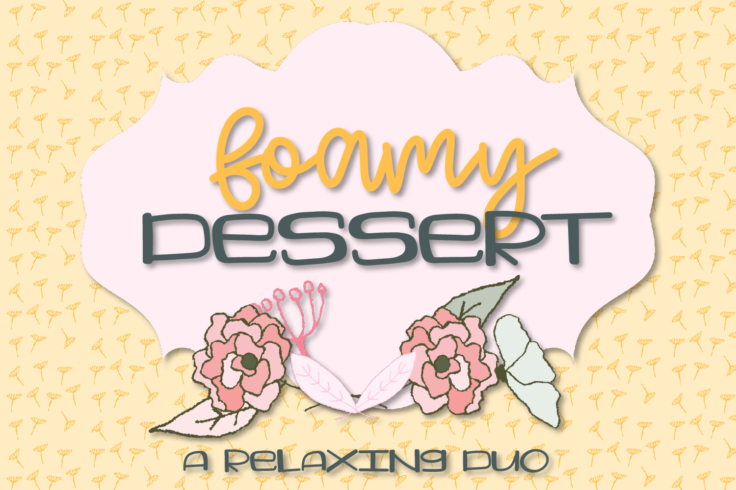 Foamy Dessert - A Southern Inspired Duo example image 1