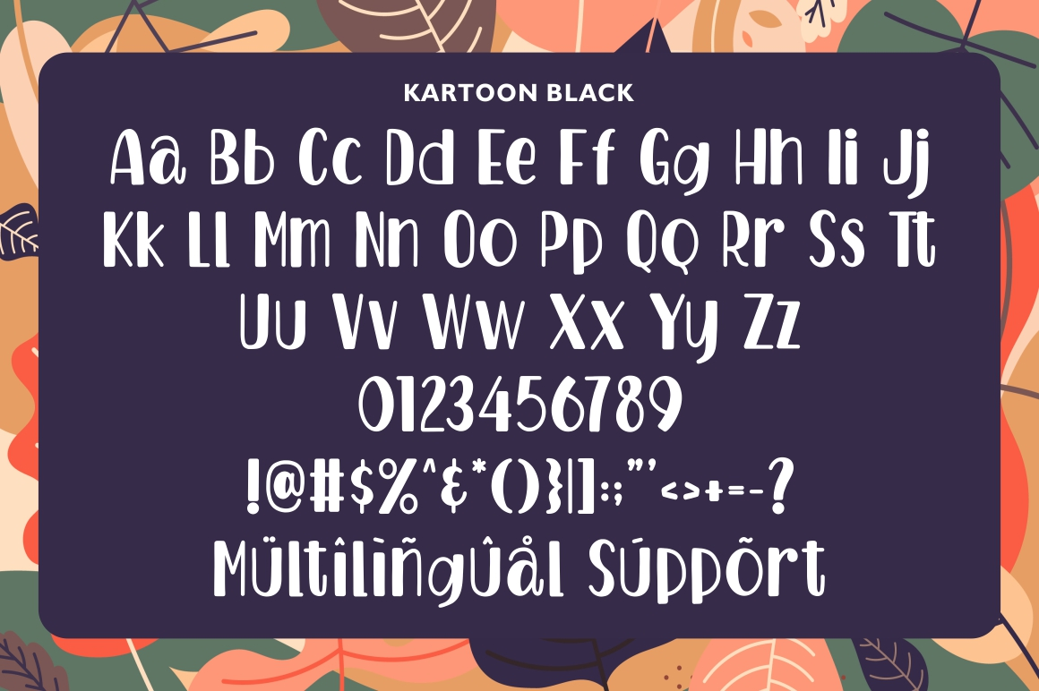Kartoon - Display Font example image 5