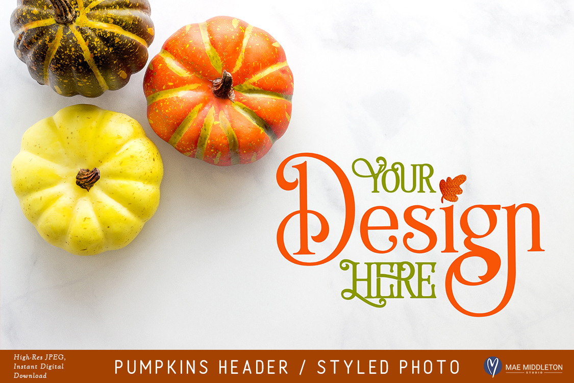 Pumpkins Header example image 1