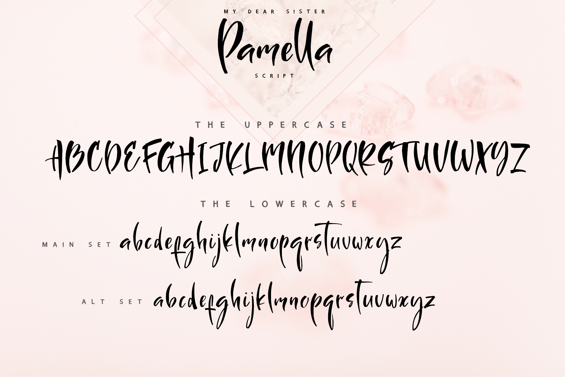 Sister Pamella Font Duo example image 13