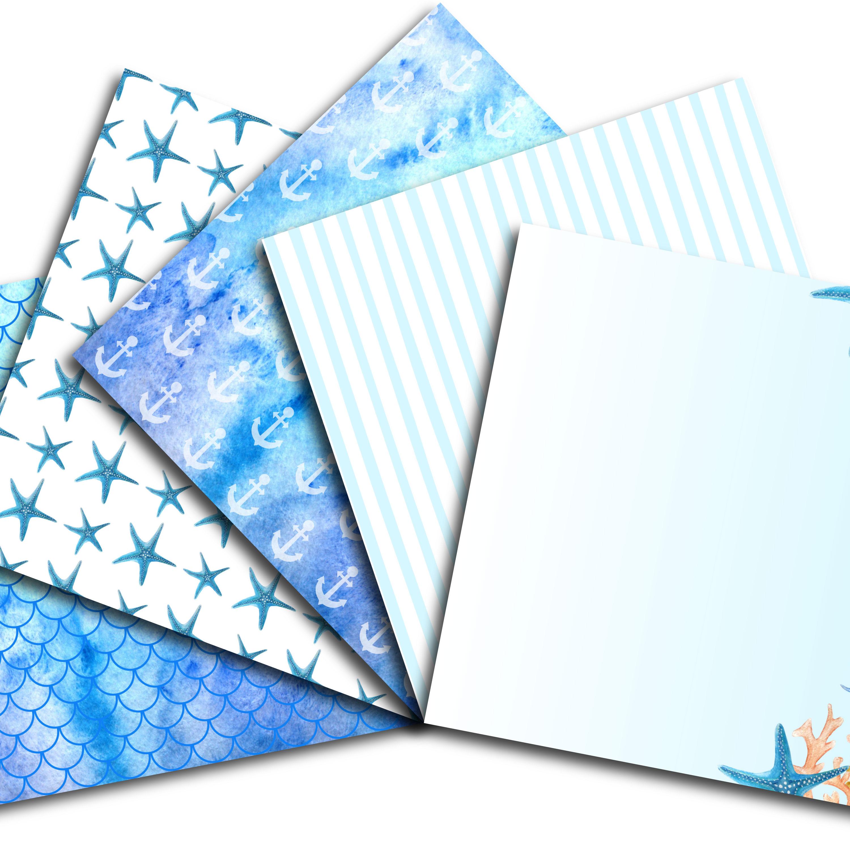 Sea Digital Paper example image 3