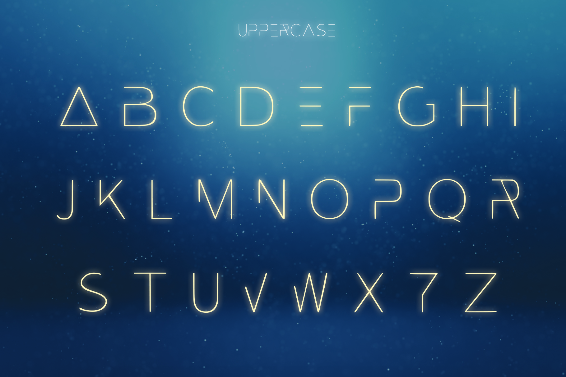 EXOPLANET - A Futuristic Typeface example image 3