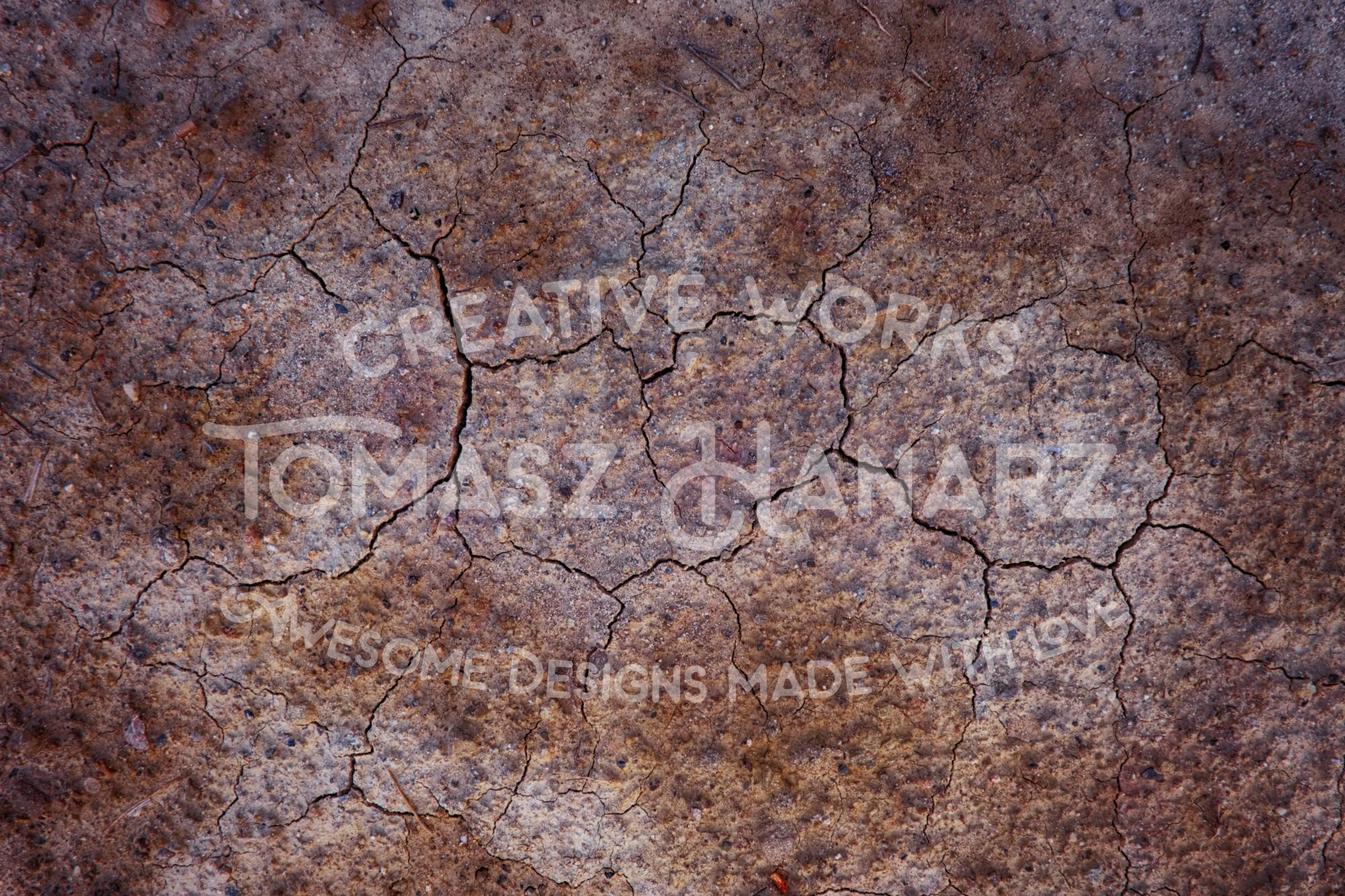 Seven Cracked Floor Backgrounds example image 5