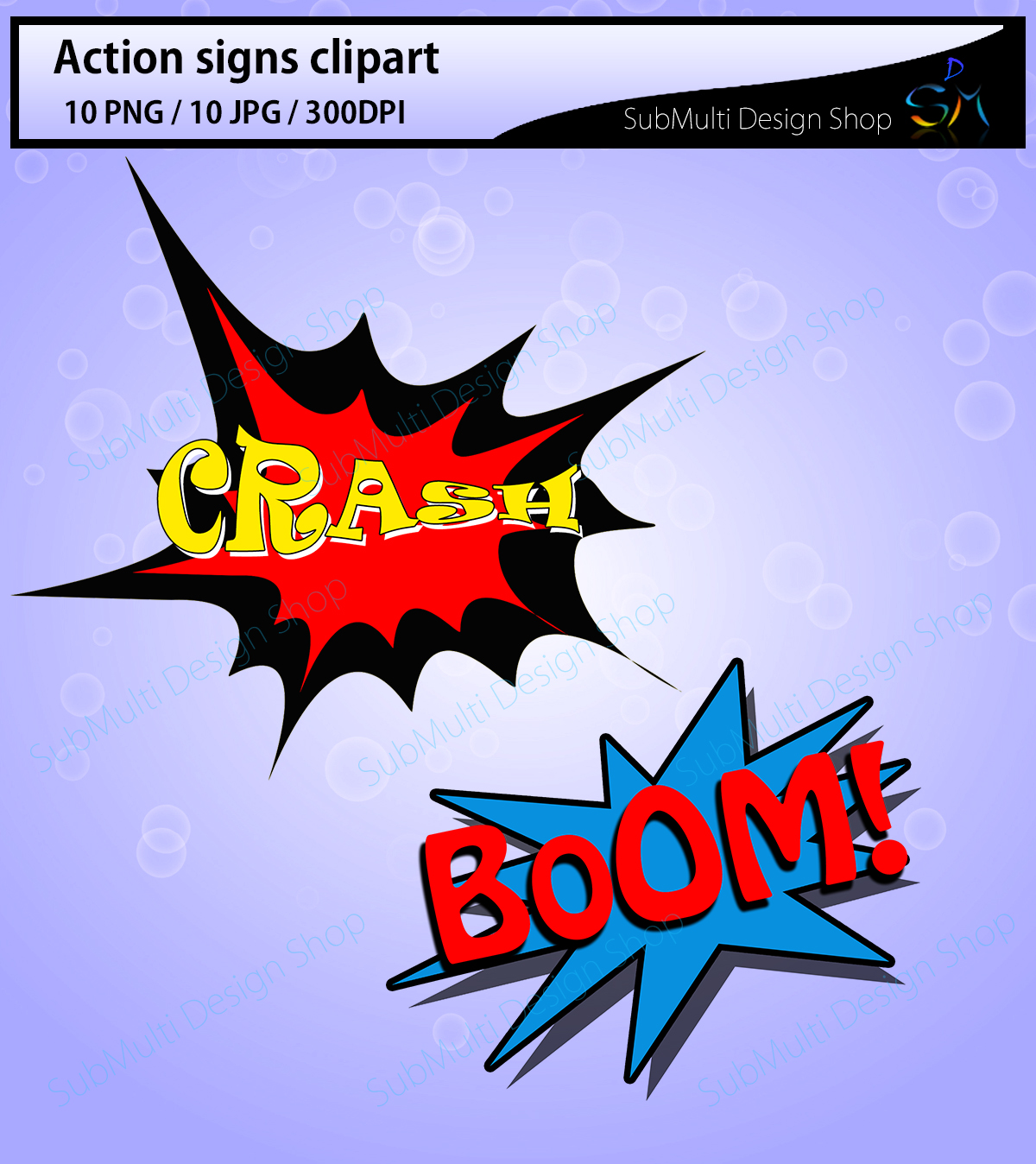 action signs / High Quality clipart / action sign silhouette / zap clipart / bang clipart / pow clipart / boom clipart /pop art / comic book example image 5