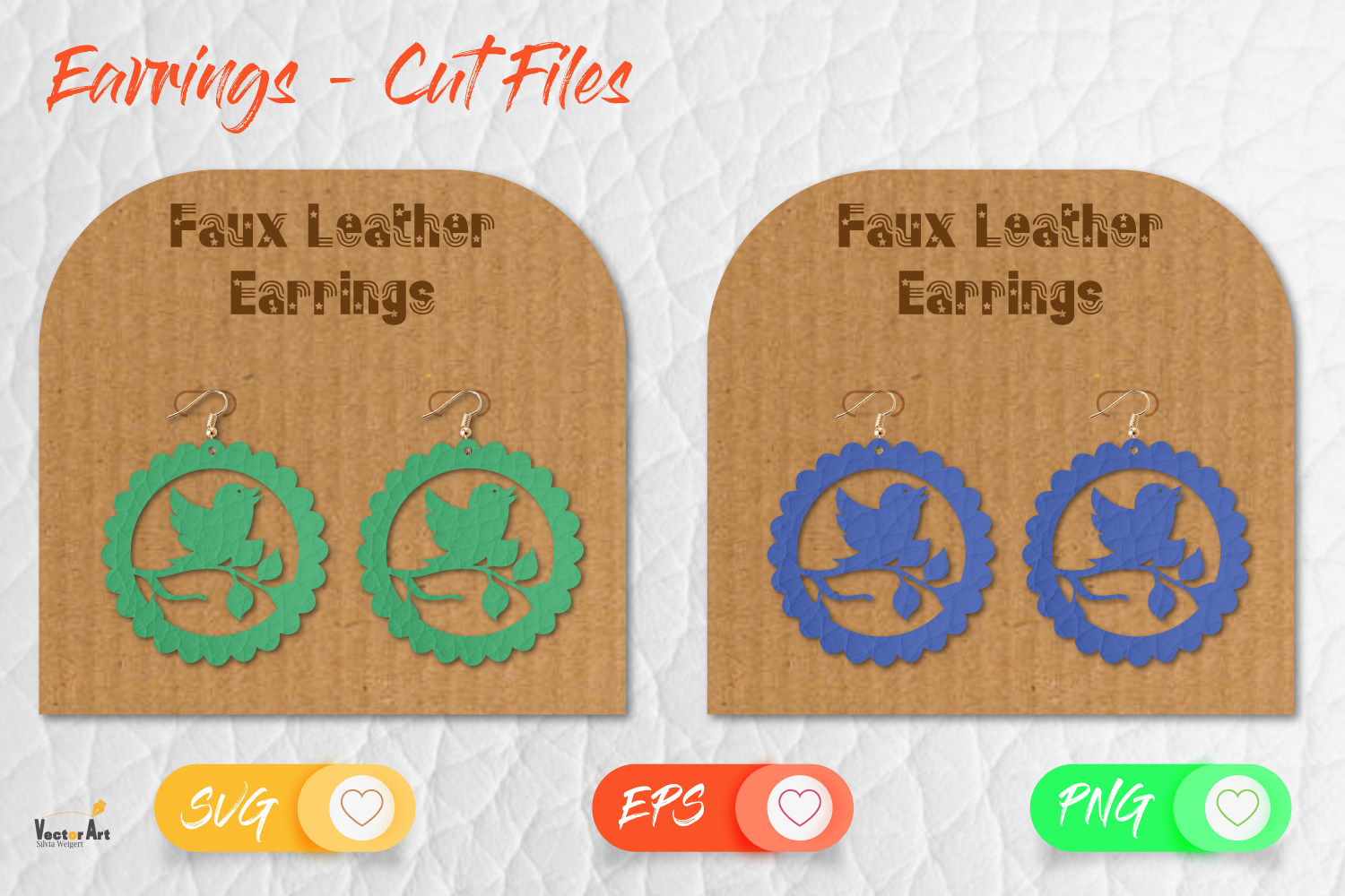 5 Earrings - Mini Bundle - Cut files example image 4