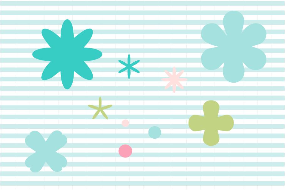 Flower Cut File Bundle example image 4