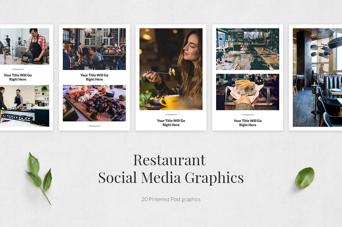 Restaurant Pinterest Posts example image 2