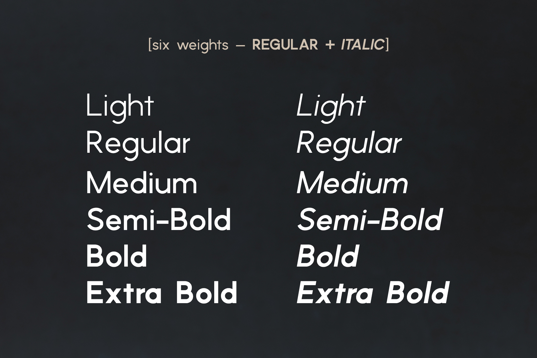 Phoenix | A Multi-Weight Sans example image 2