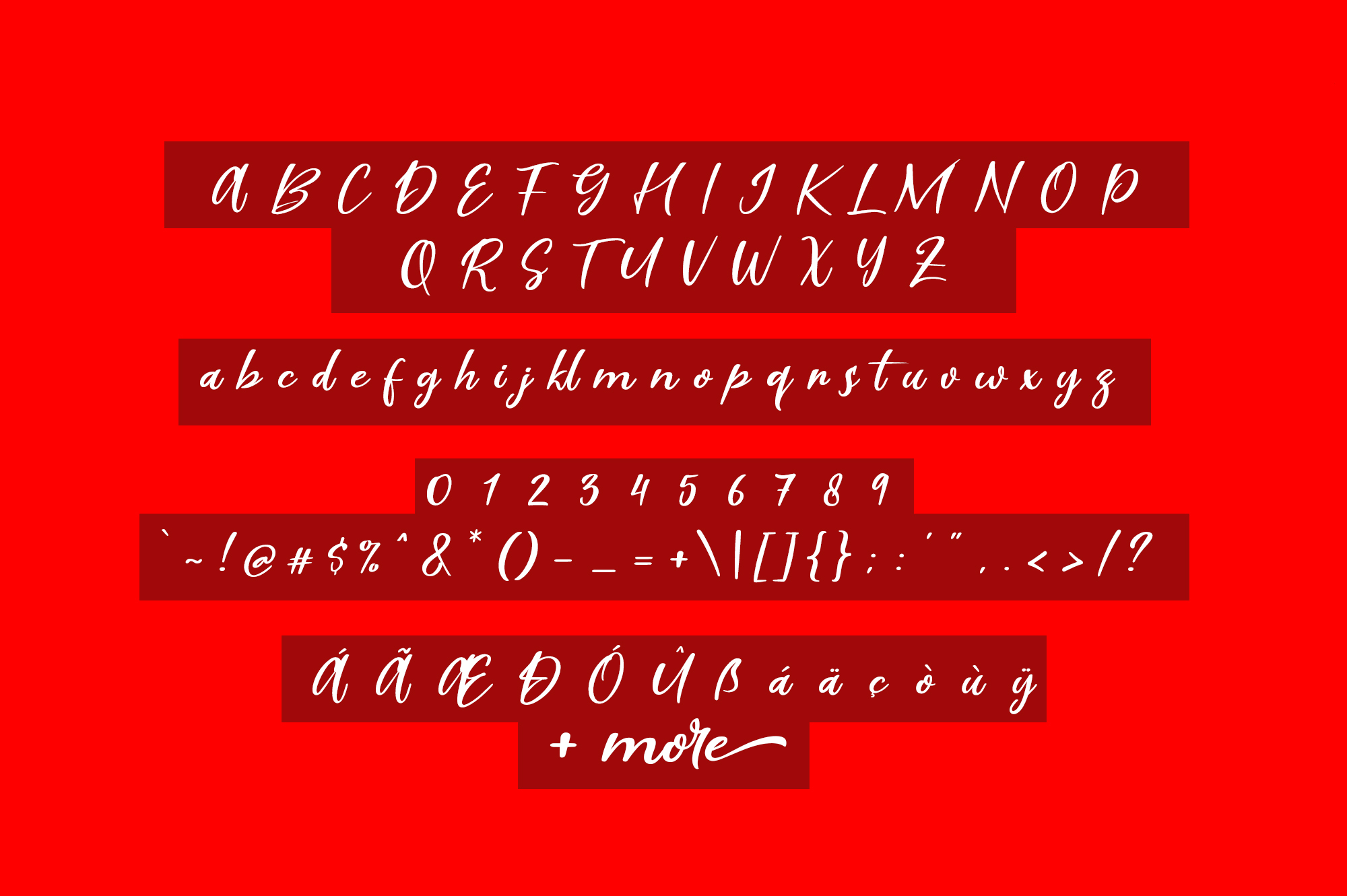Scarlet Pen Script example image 6