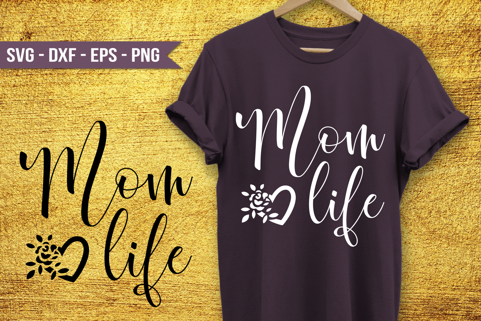 Mom Life SVG example image 1