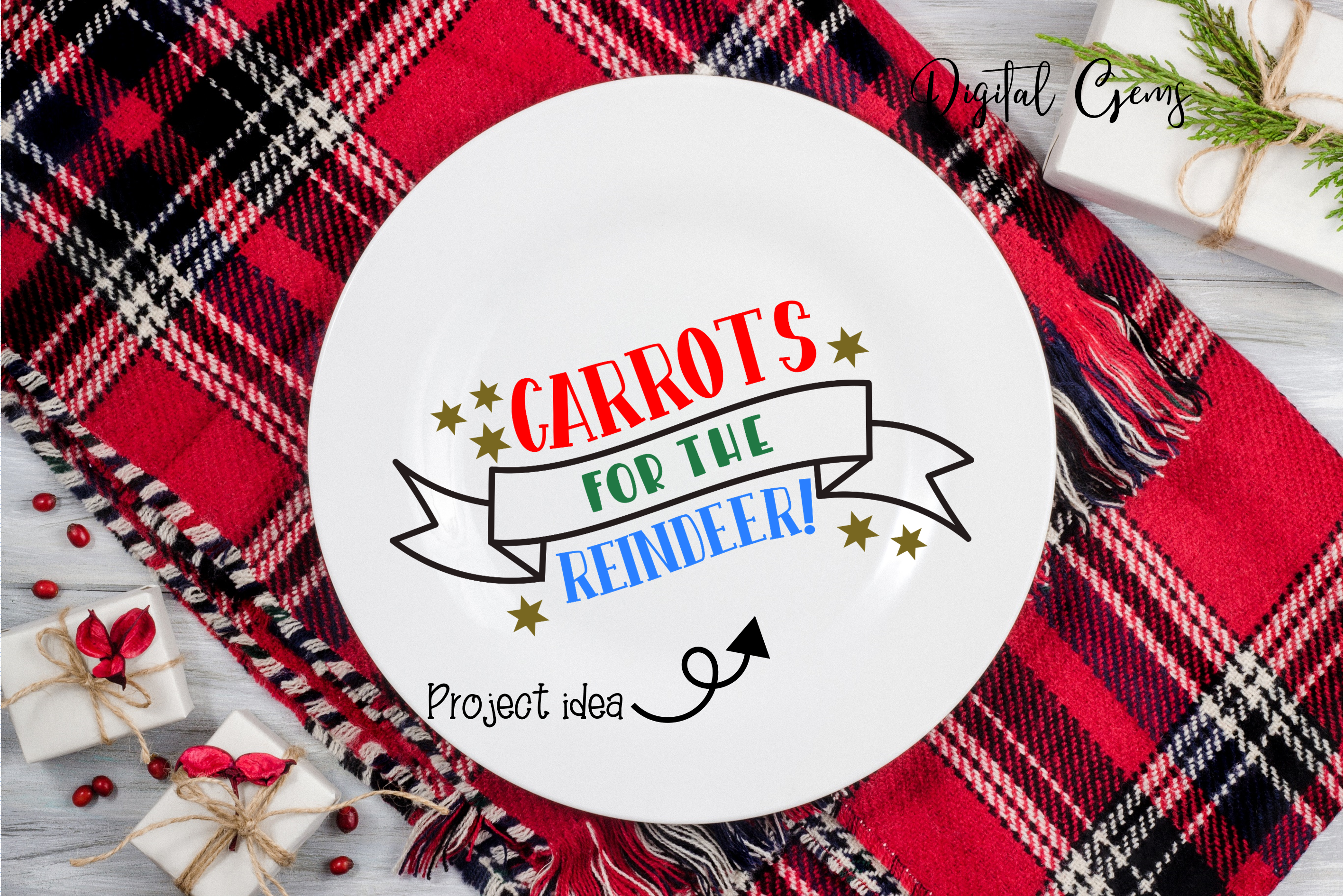 Cookies and Milk for Santa and Carrots for the Reindeer example image 4