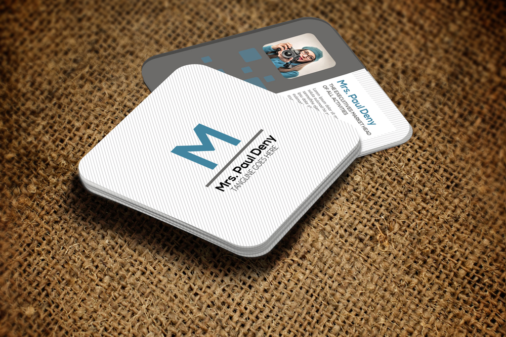 Mini Social Media Business Card example image 3