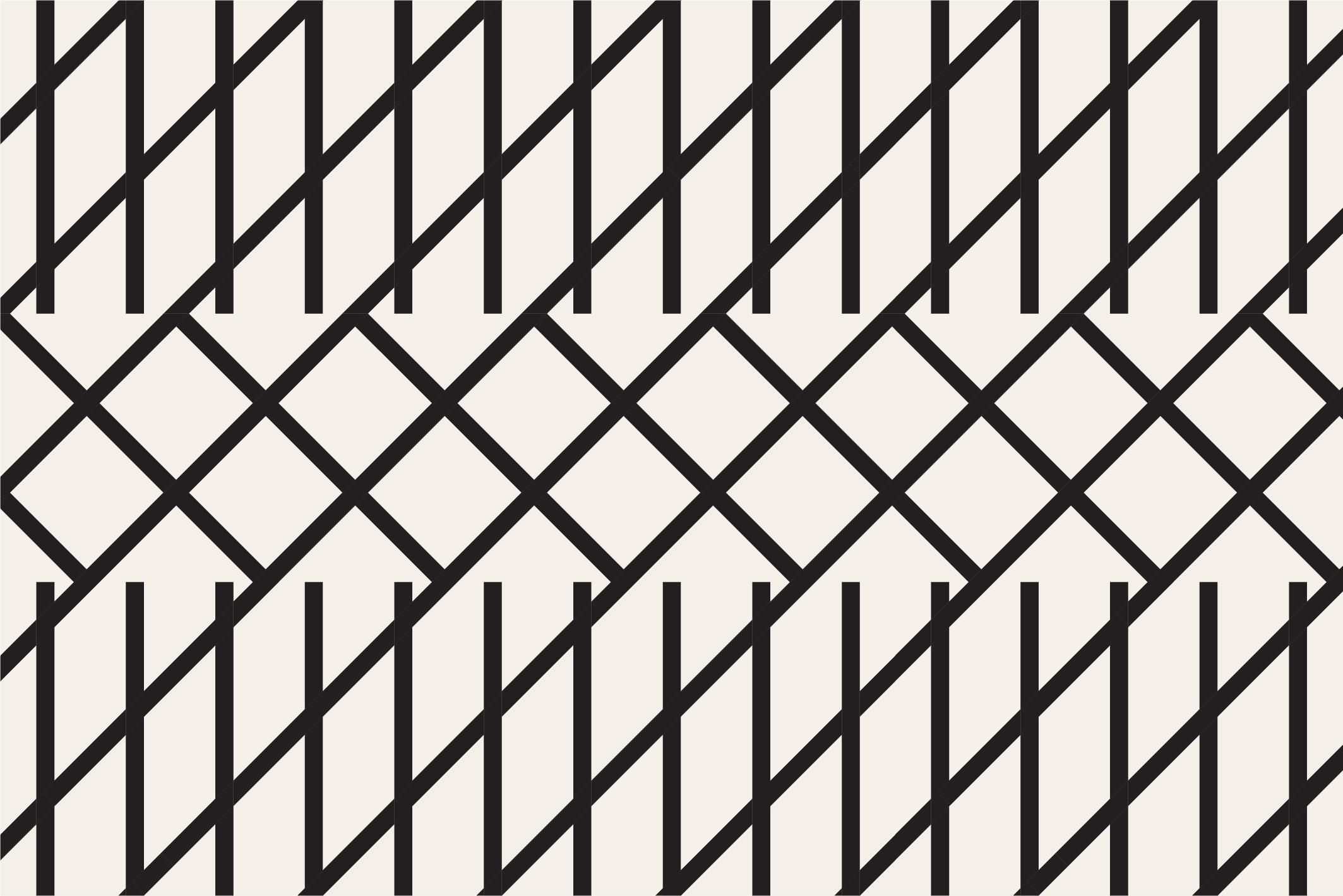 Geometric seamless patterns example image 14