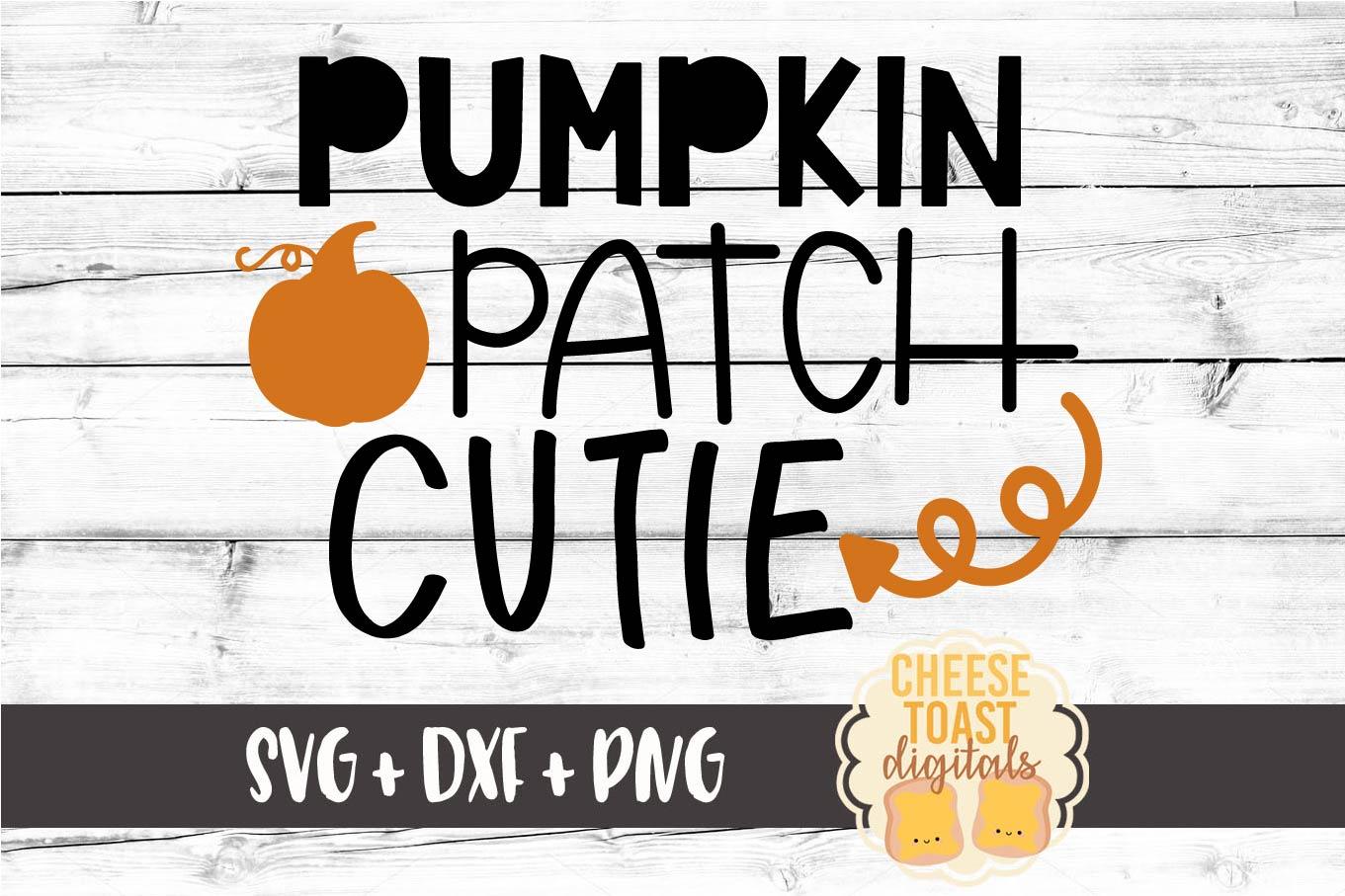 Pumpkin Patch Cutie - Fall SVG File example image 2