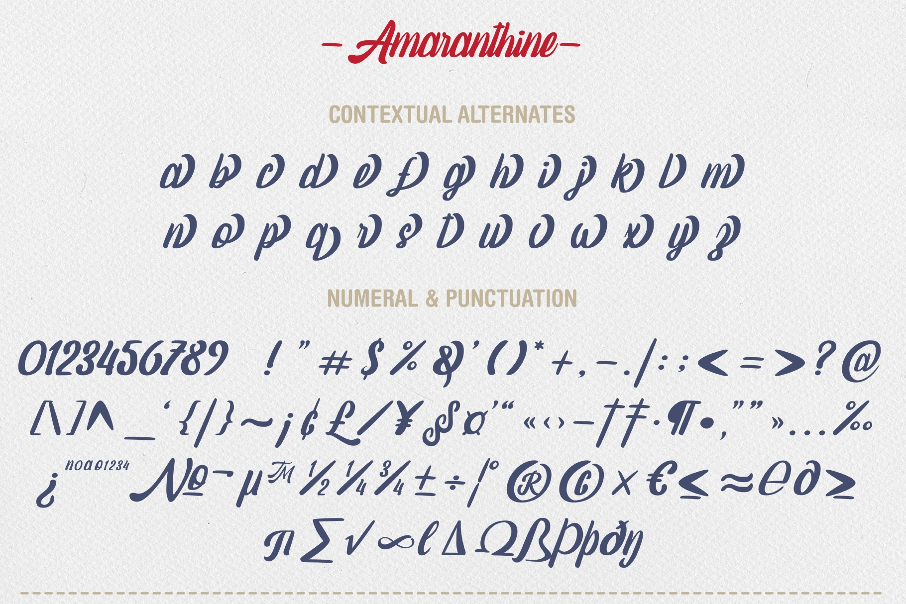 Amaranthine Script Font example image 8