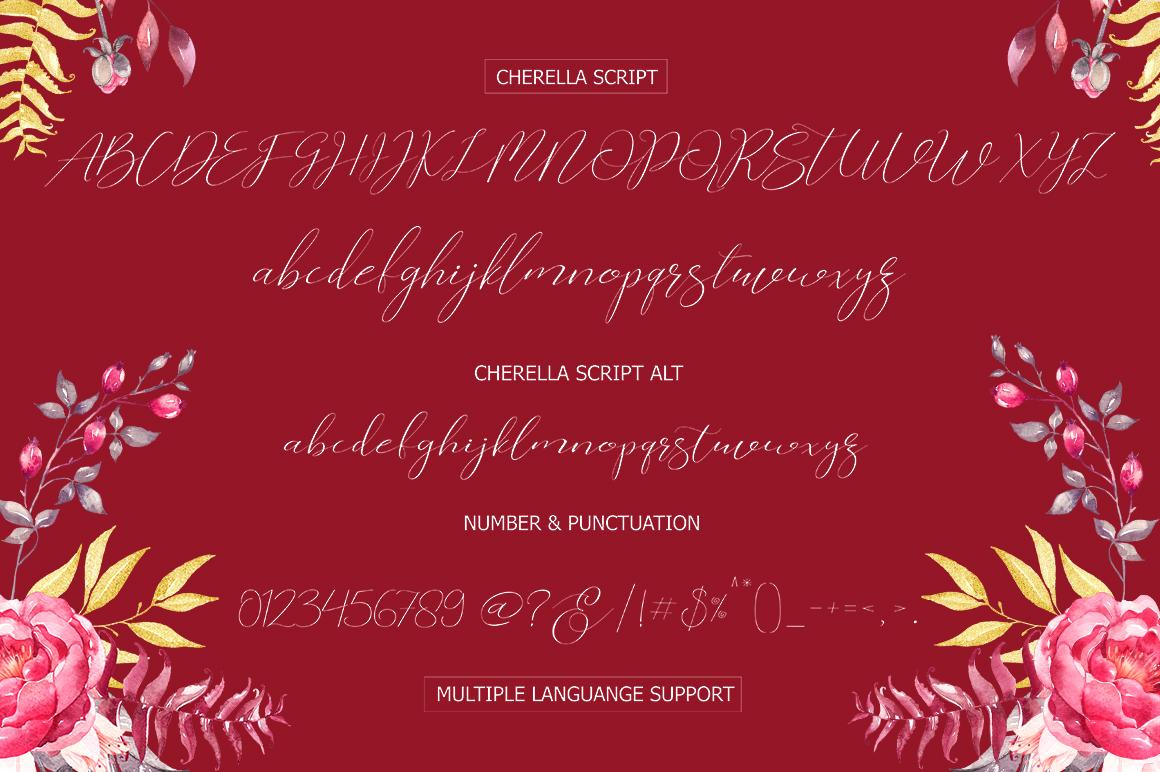 Cherella Script example image 12