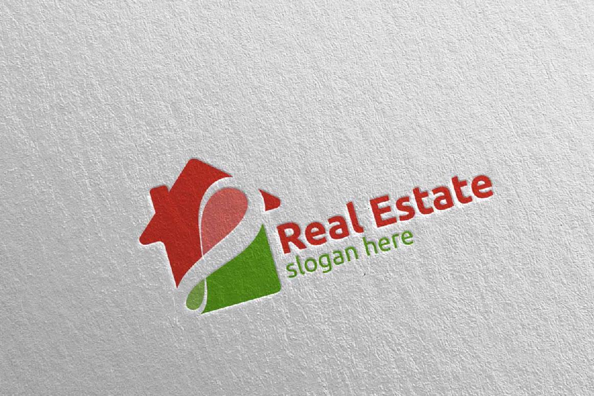Real Estate Infinity Logo Design 40 example image 1