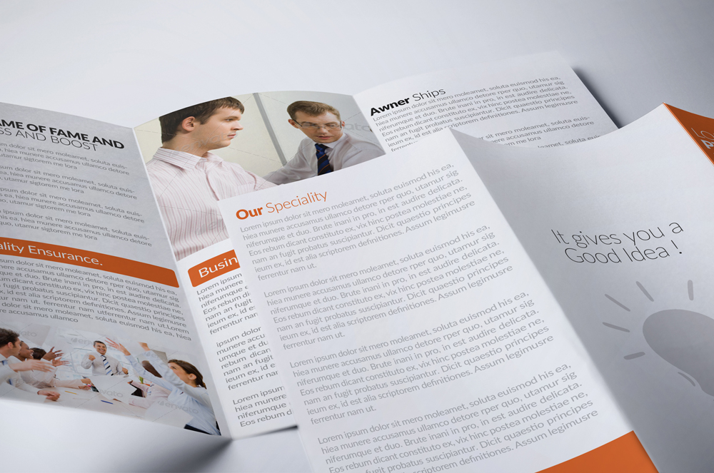 Business Solution Trifolde Brochure example image 3