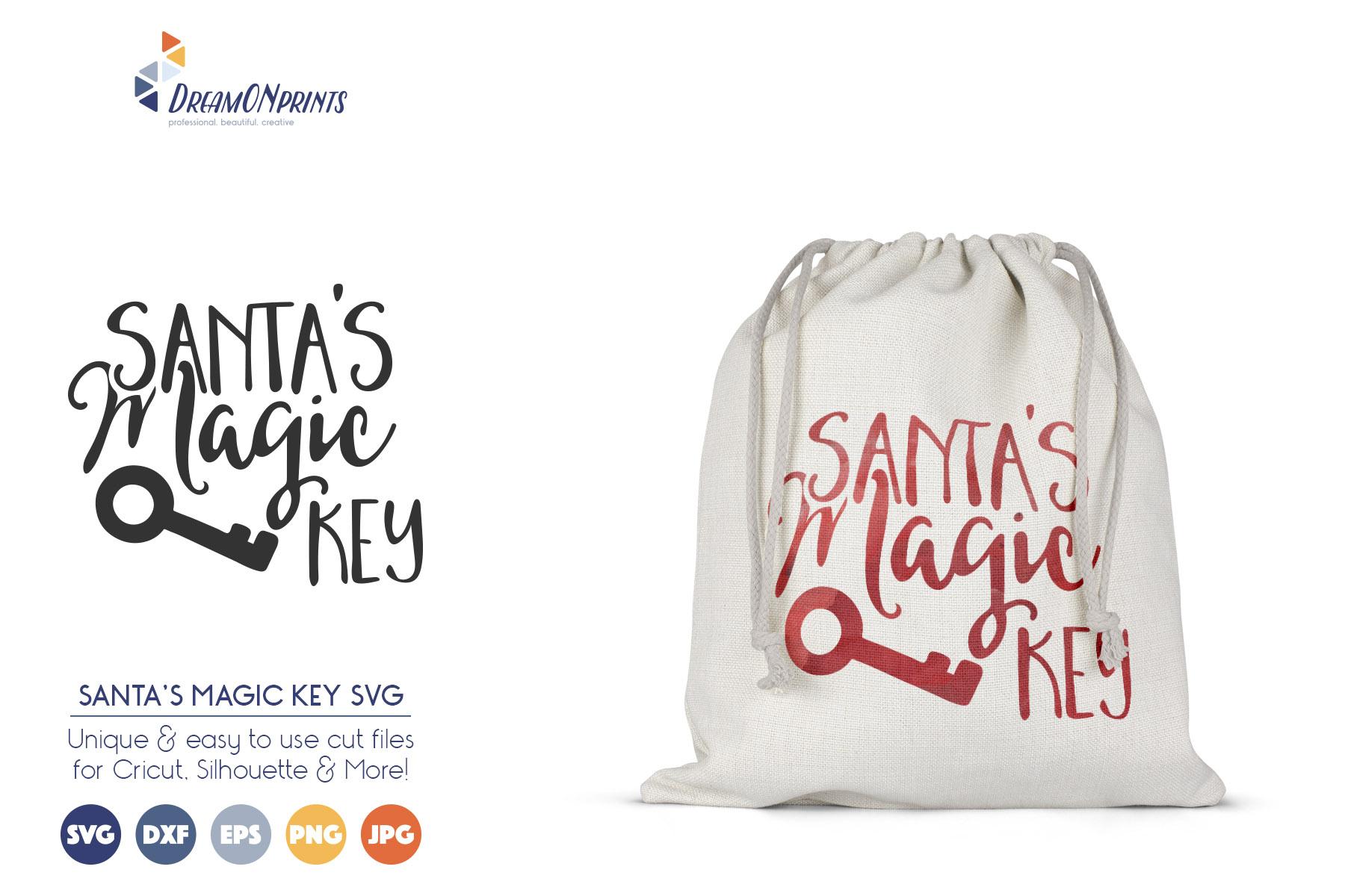 Christmas Stamps & Santa Sack SVG Bundle example image 4