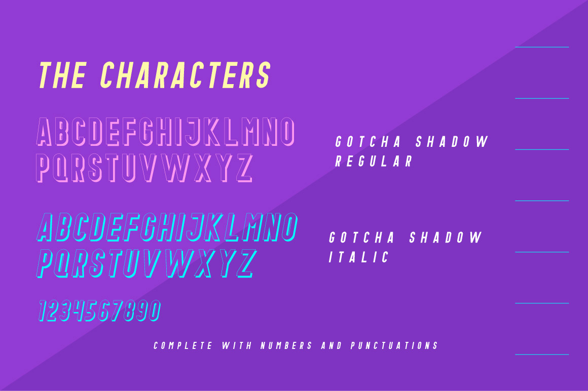 Gotcha Typeface example image 4