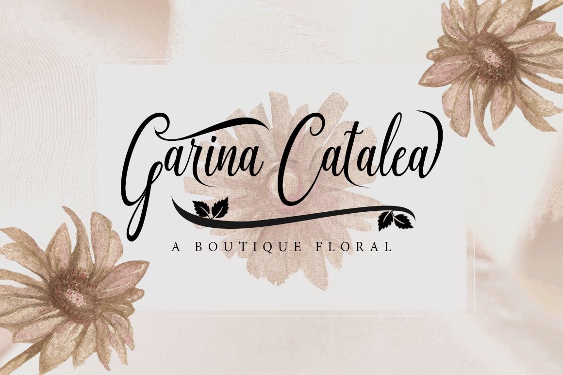 Graf Call New Stylish Script Font example image 9