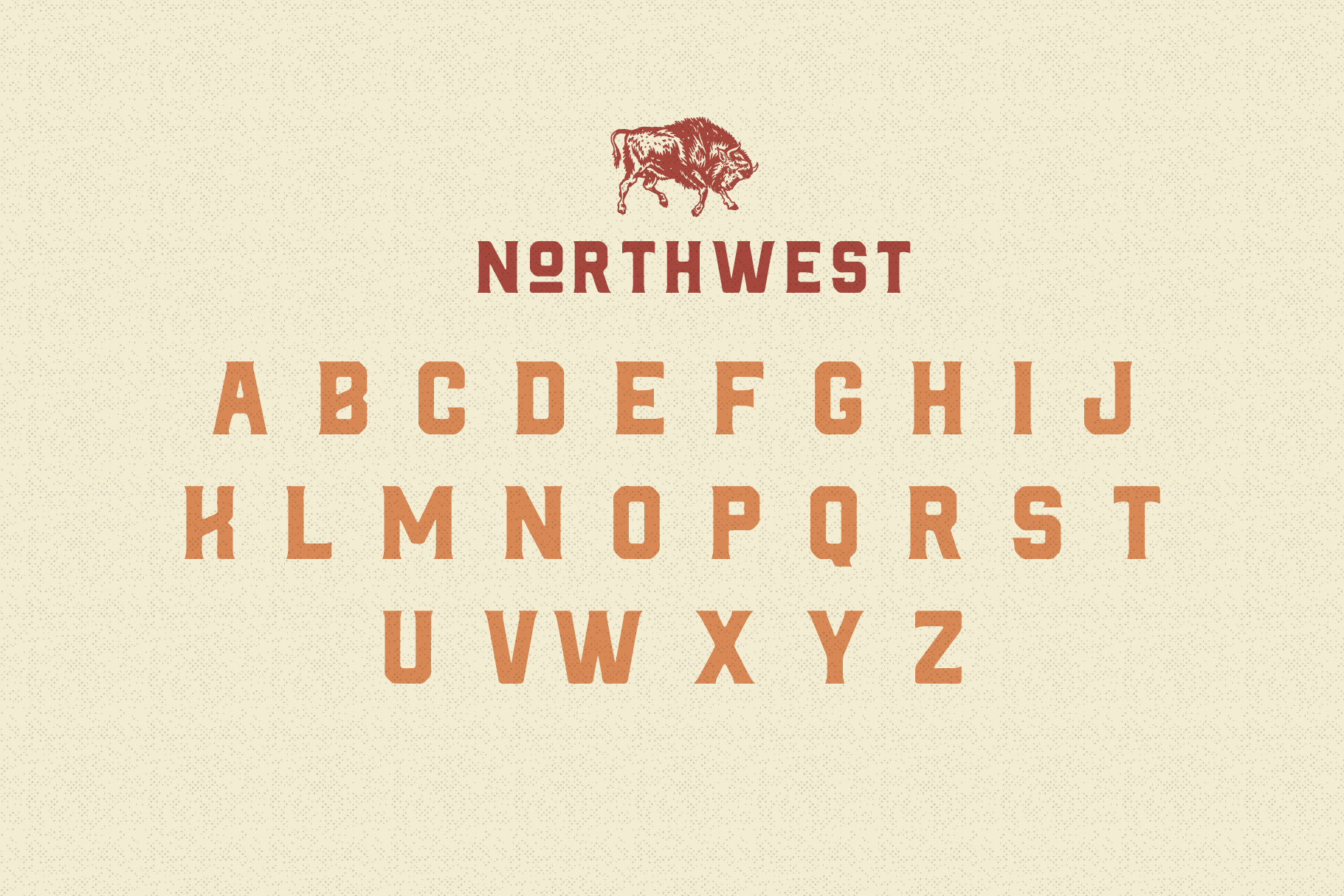 The Northwest - Modern Vintage Type Family example image 4
