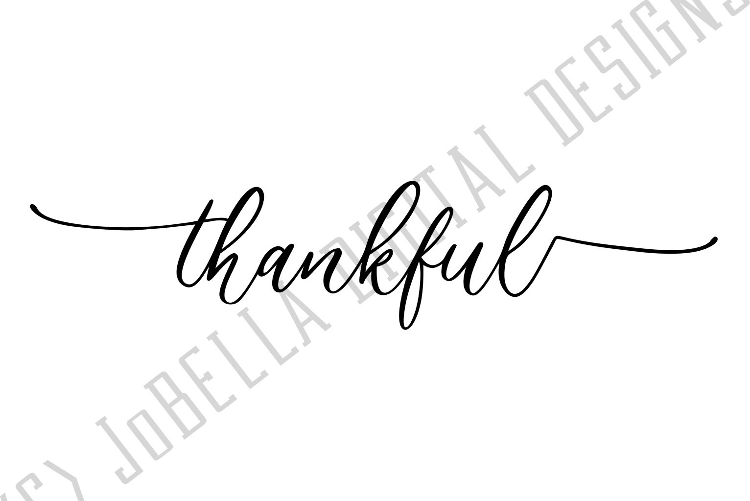 Thankful SVG and Printable Farmhouse Design example image 2