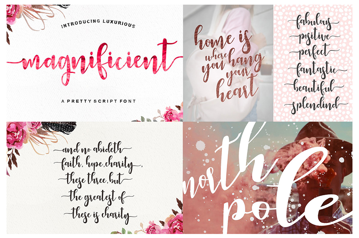 The Handlettered Font Collection example image 3