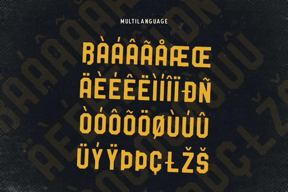 Barthon Typeface Combo (7Fonts)! example image 6