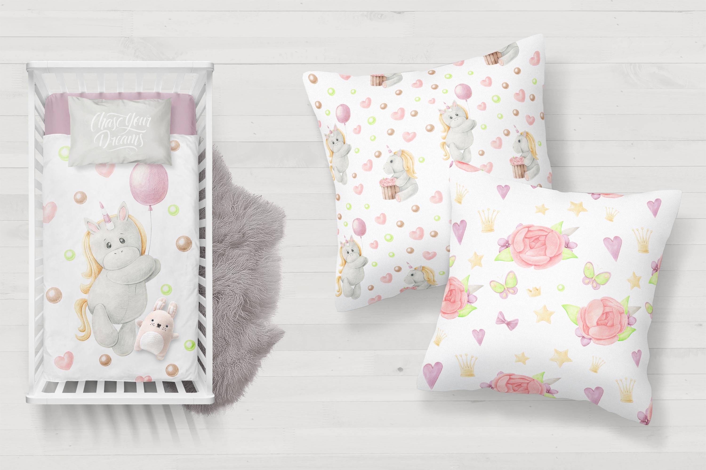 Tiny Unicorn Design Set example image 6