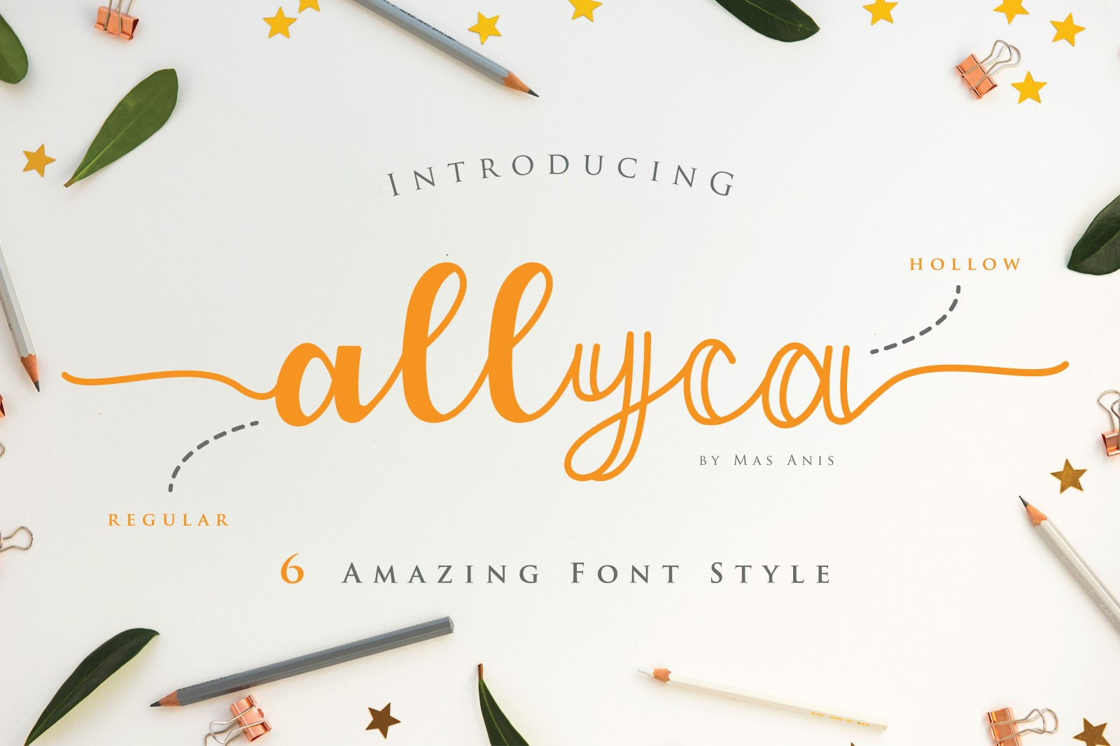 Allyca - Font Family example image 1