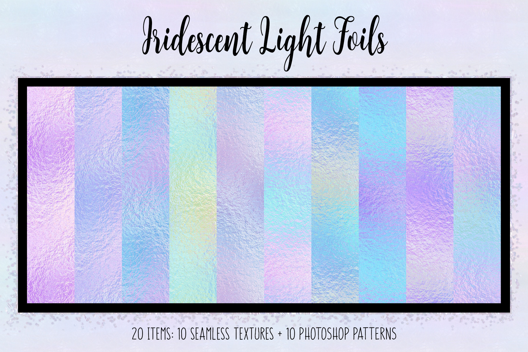 Iridescent Light Foils example image 1