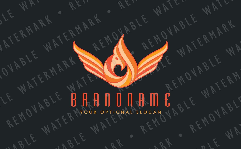Phoenix Flame Logo example image 3