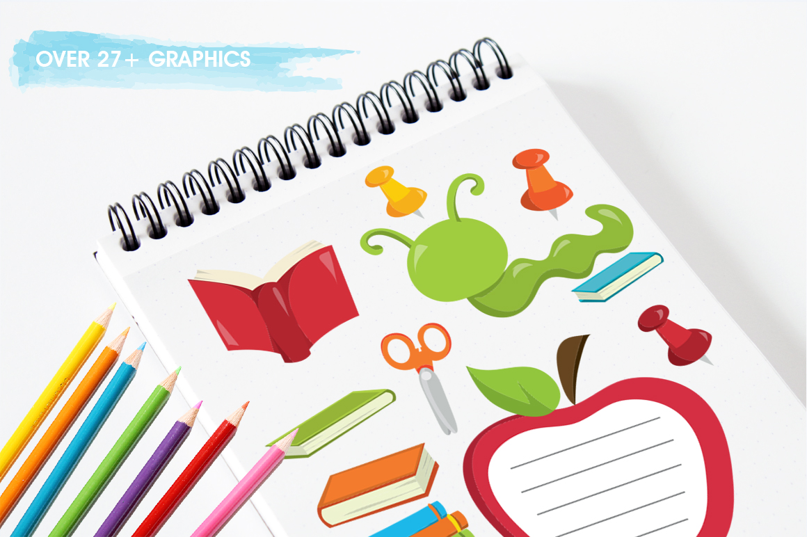 Back to School graphic and illustrations example image 4
