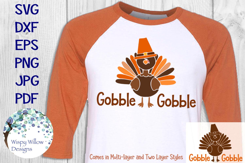 Thanksgiving Turkey Shirt Bundle | Fall | Autumn | SVG example image 2